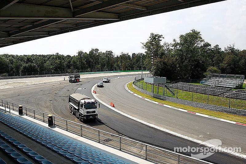 Drivers defend controversial Parabolica gravel