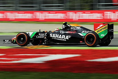 Sahara Force India enjoys a positive day of practice for the Italian GP in Monza