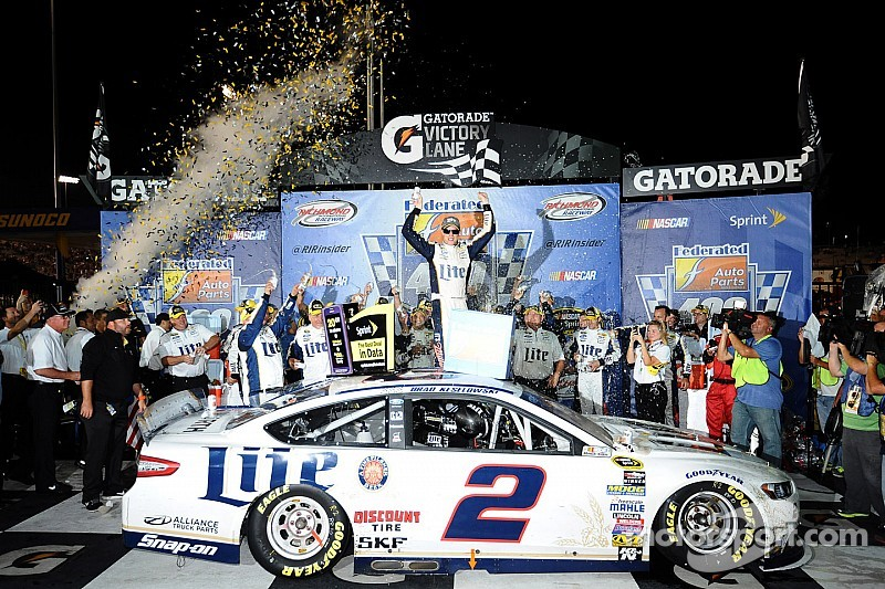 Keselowski untouchable en route to dominating Richmond win