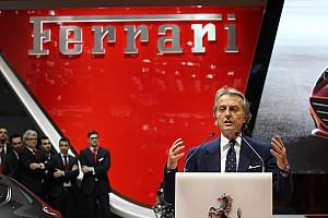 Formula 1 Breaking news Montezemolo announces Ferrari exit