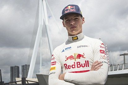 Max Verstappen finally gets his Toro Rosso F1 test