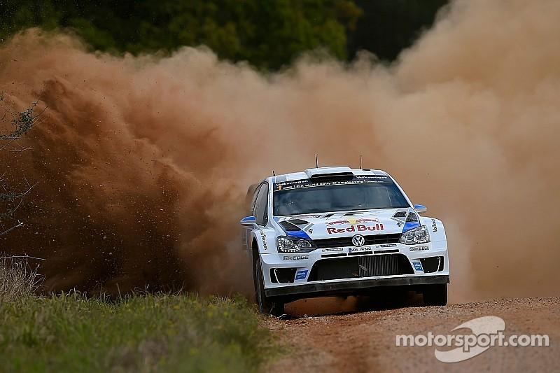 Ogier leads Latvala on penultimate day of Rally Australia
