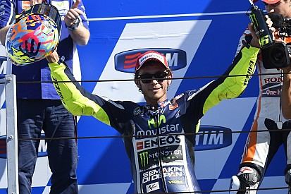 Rossi thrills home fans with stunning victory at Misano