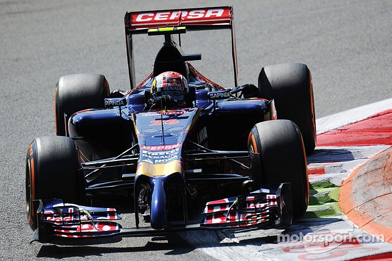 Not a bad day for Toro Rosso on Friday practice for the Singapore GP