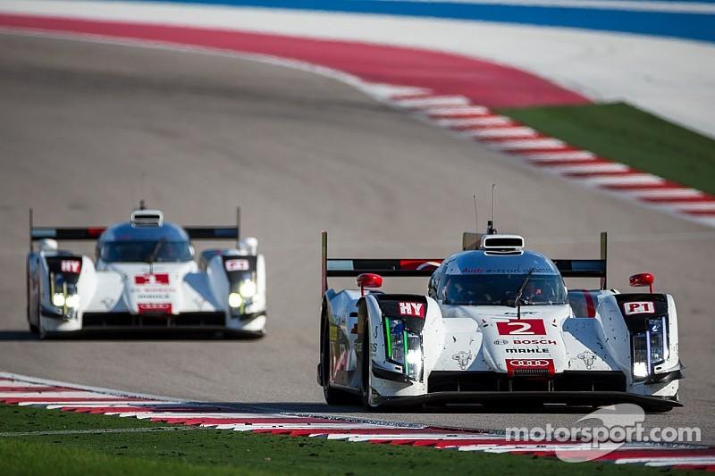 Audi celebrates second WEC season victory at Austin