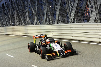 Sahara Force India scored 8 points in Singapore
