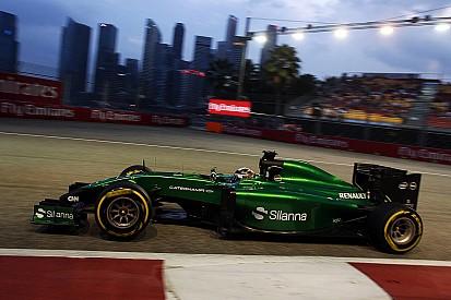 Caterham, Pirelli deny 2014 tyre supply reports