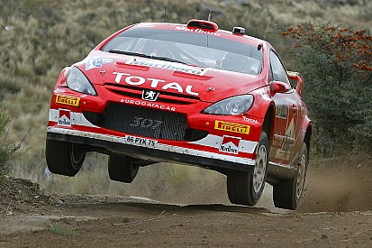 A rare breed - Rally drivers