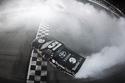 Erik Jones wins Vegas in KBM 1-2 finish