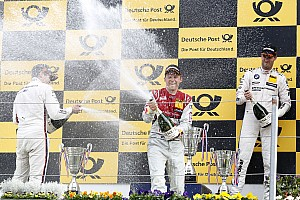DTM Race report Audi wins DTM thriller at Zandvoort
