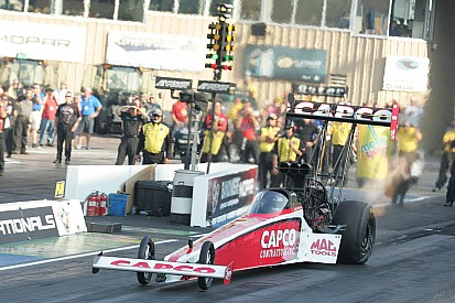 Torrence gains ground but loses position in NHRA Chase