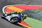 Valentino Rossi talks about his crash at Aragon