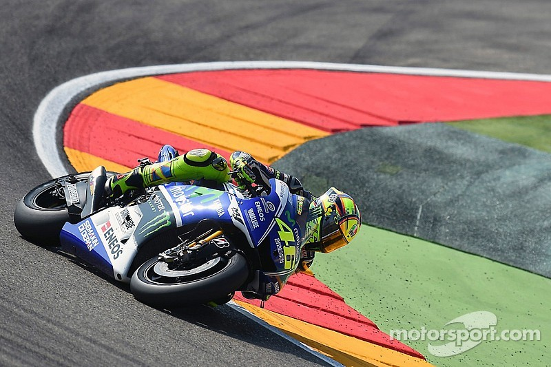 Valentino Rossi talks about his crash at Aragon
