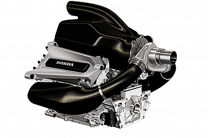 Honda provides first look of F1 power unit