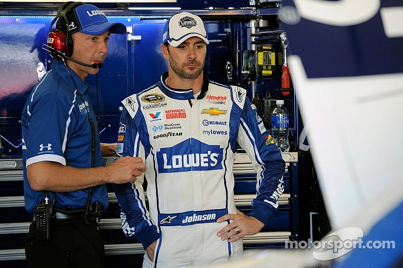 Jimmie Johnson is focussed on the finale
