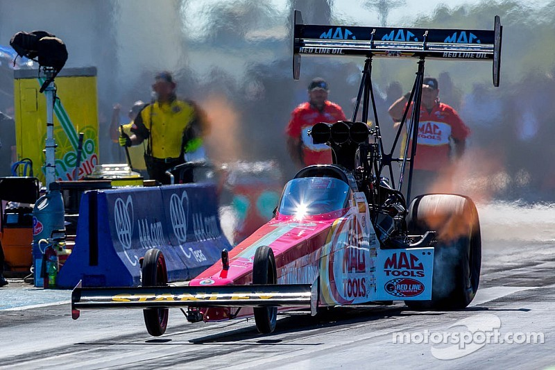 Doug Kalitta fastest in Top Fuel qualifying at Maple Grove