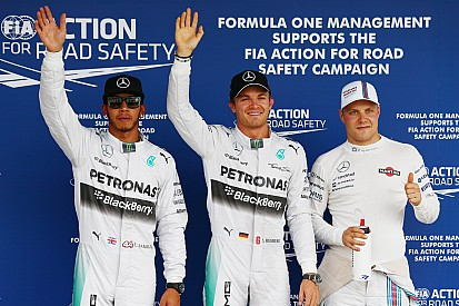 Japanese GP qualifying results: Rosberg clinches pole