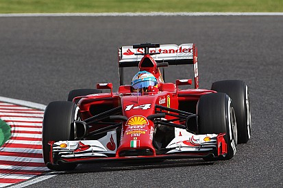 Ferrari at Suzuka: For the sixth time this season Alonso qualified fifth