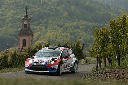 Kubica's impressive drive cut short at Rallye de France