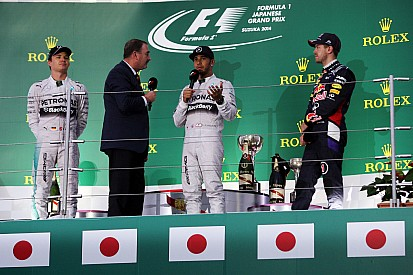 2014 Japanese GP race press conference