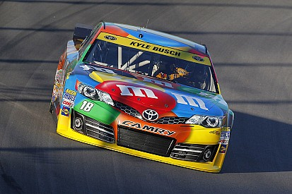 NASCAR notebook, Kansas: Kyle Busch finally finds his mojo