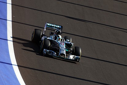 Russian GP practice 2 results: Hamilton snatches P1