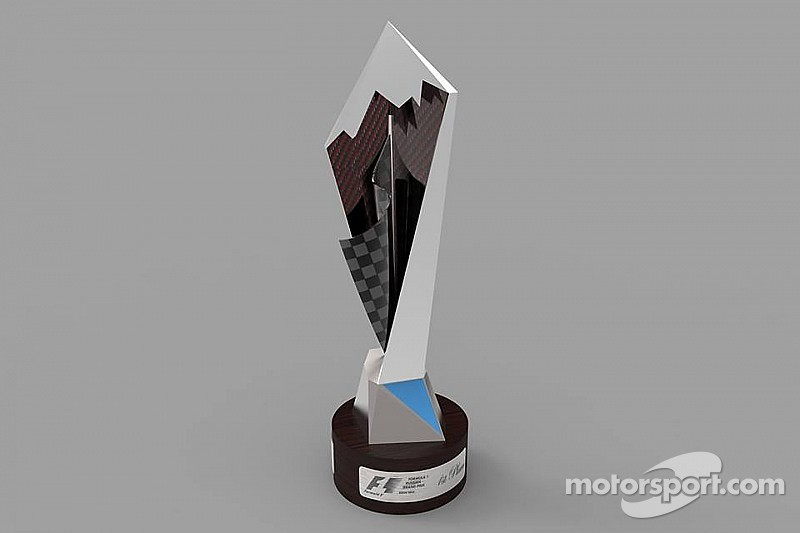 Sochi Autodrom reveals the 2014 Formula 1 Russian Grand Prix trophy