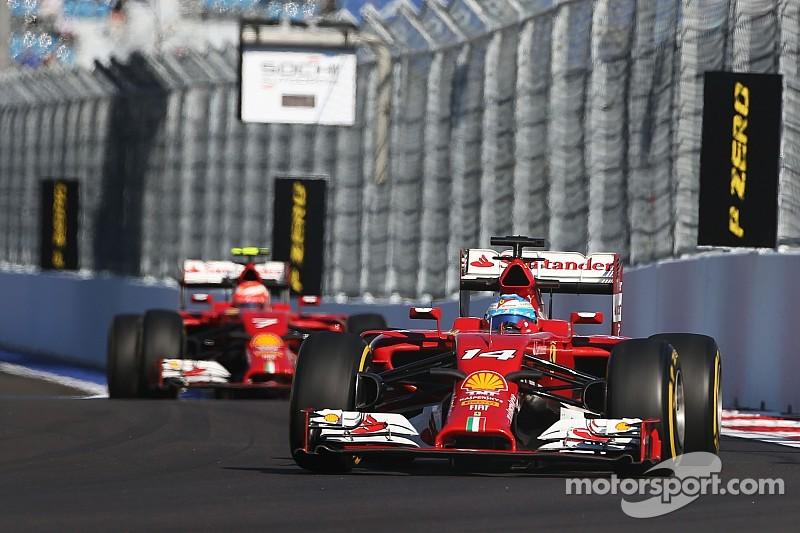 Ferrari: A subdued Friday in Russia
