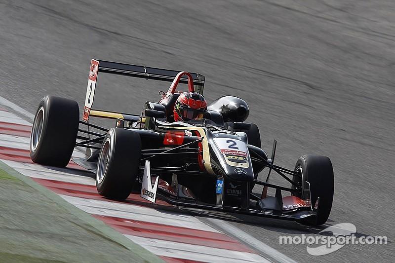 Esteban Ocon takes lights-to-flag win, Max Verstappen retires