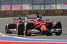 Ferrari: Row Four for Russian debut