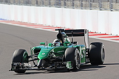 Kobayashi hints Caterham suffering parts shortage