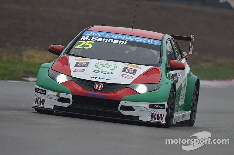 A day to remember for Citroën and Honda driver Bennani