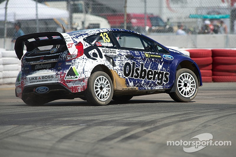 World RX of Turkey win a birthday present for Andreas Bakkerud