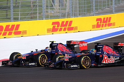 A frustrating Russia GP for Toro Rosso