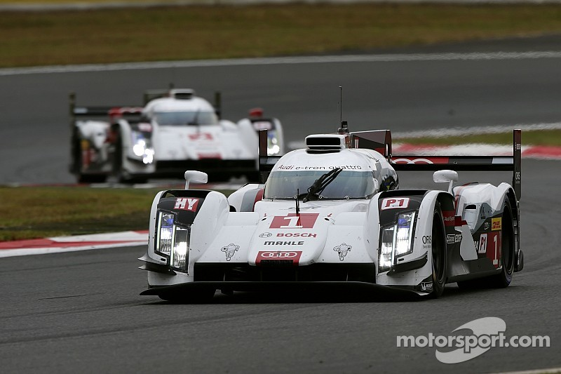 Audi maintains its challenge for WEC title in Japan