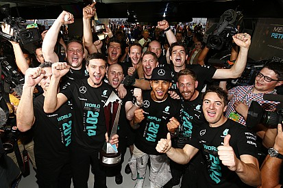 Mercedes finally secures maiden constructor's title
