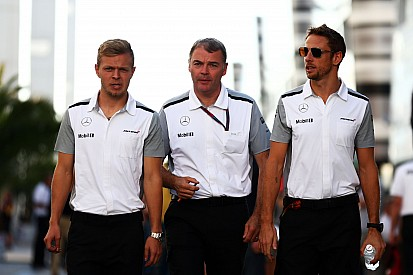 Button worried about rookie Magnussen's future