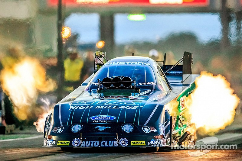 NHRA title fight is down to a two-race showdown