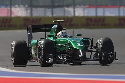Struggling Caterham in race to send cars to Austin