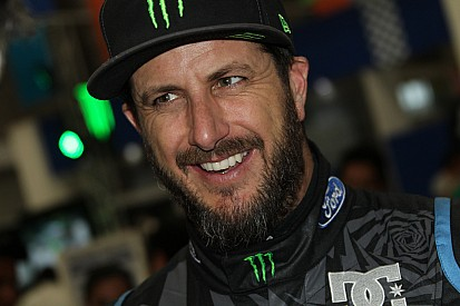 Ken Block back with World Rally Championship this week
