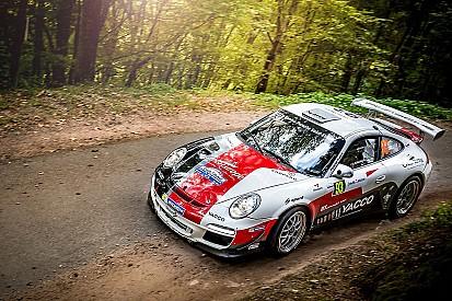 """Romain Dumas, multi-generational Porsche specialist at """"Les Cévennes"""" and the Tour de Corse !"""