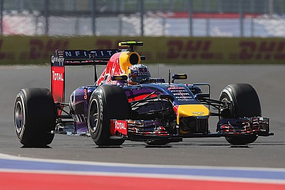 Red Bull ahead of the US Grand Prix
