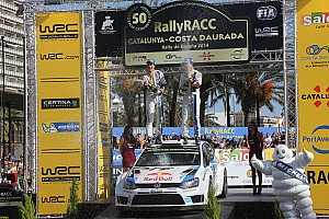 WRC Race report Ogier takes Rally de Espana win and clinches WRC title