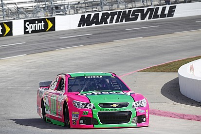 Late accident costs Danica Patrick a good finish at Martinsville