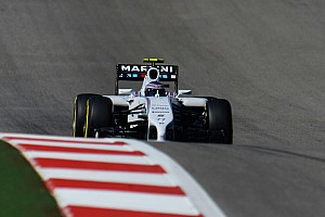 Formula 1 Qualifying report Bottas qualified third and Massa fourth for tomorrow's United States GP