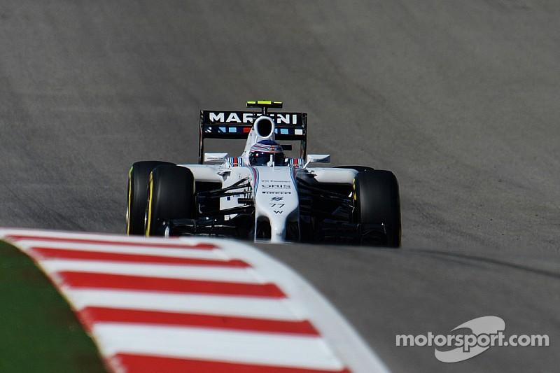 Bottas qualified third and Massa fourth for tomorrow's United States GP