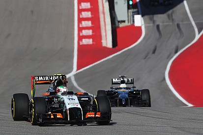 A disappointing afternoon for Sahara Force India in Texas