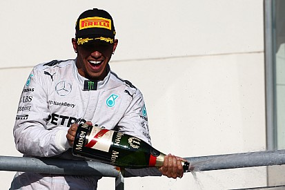 Hamilton took his third United States GP victory after a tense battle with Rosberg