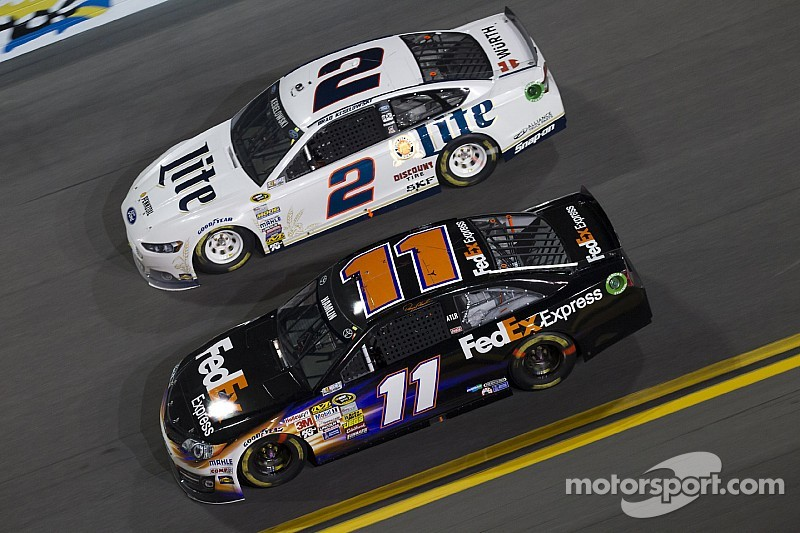 """Hamlin offers Keselowski advice: """"It's hard to win a championship on your own"""""""
