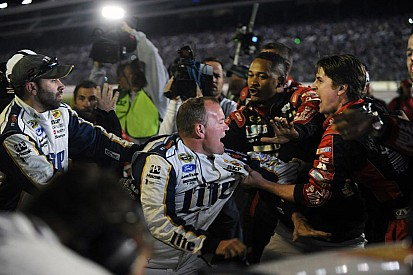 NASCAR punishes crew members/crew chiefs, but not the drivers for Texas brawl
